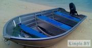 Продажа алюминиевых лодок фирмы Kimple для рыбалки и отдыха