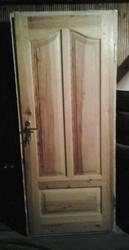 дверь входная деревянная двойная