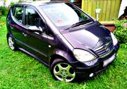 Mercedes A170CDI 2000 г.в. 1.7CDI,  черный. 221 000 км