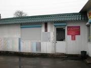 Торговый павильон на мини-рынке